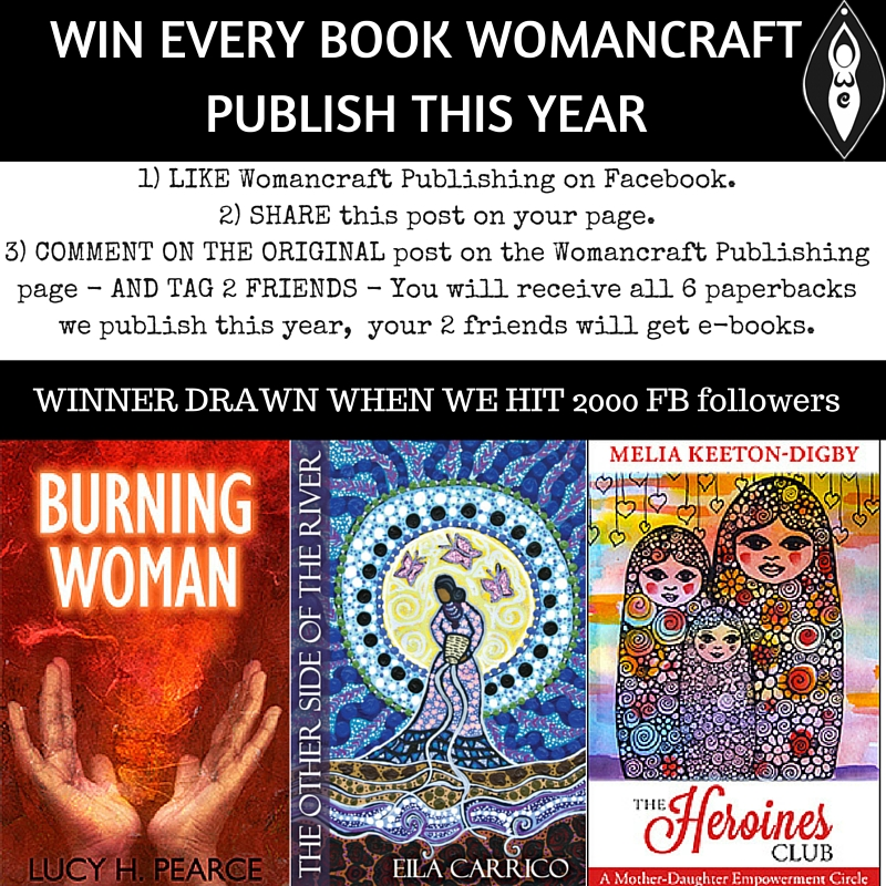 Win every Womancraft book published this year